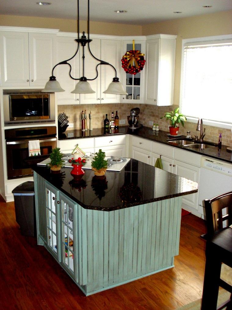 Cucina piccola 24 soluzioni di design per ottimizzare lo - Top cucina in marmo ...
