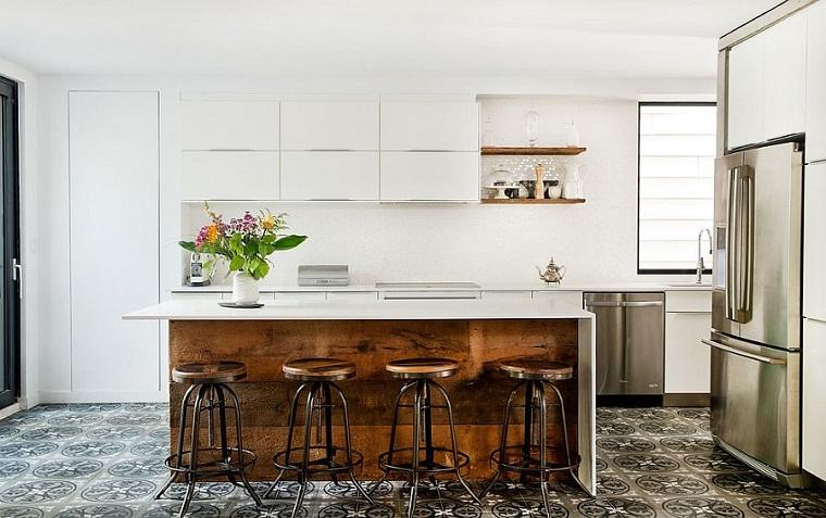 cucina stile industriale mobili design contemporaneo