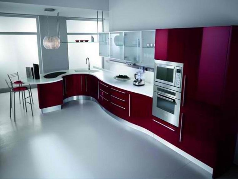 cucine ad angolo design colore moderni