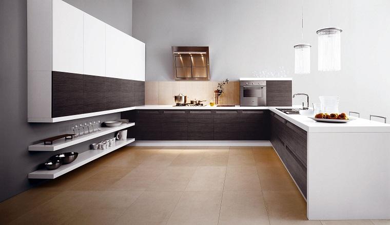 cucine ad angolo design lineare