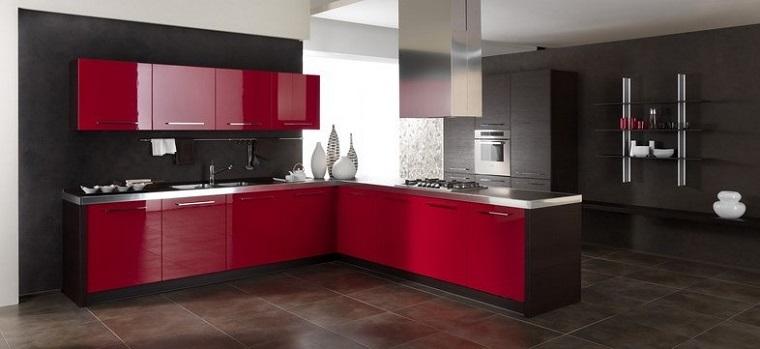 cucine ad angolo idea moderna spazi ampi