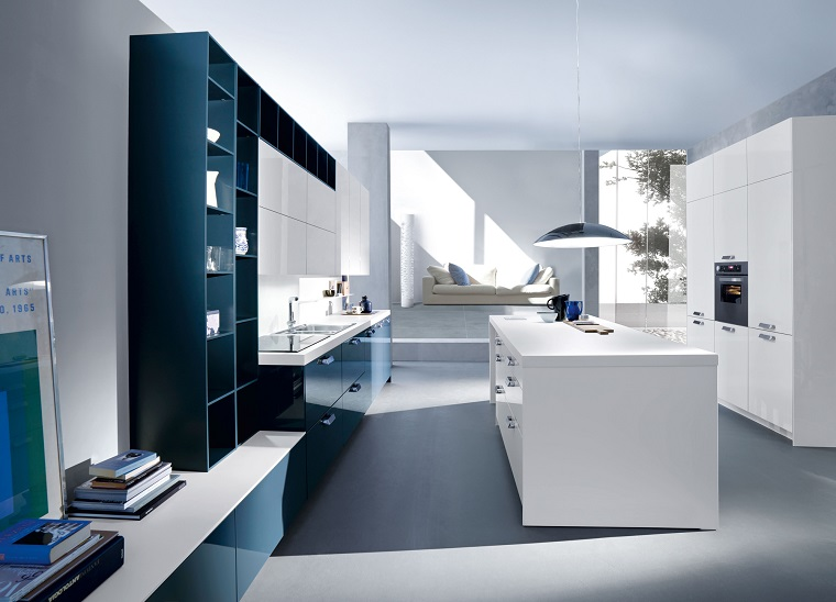cucine con isola mobili moderni