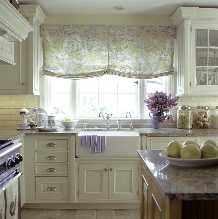cucine stile country provenzale mobili cucina in legno color crema