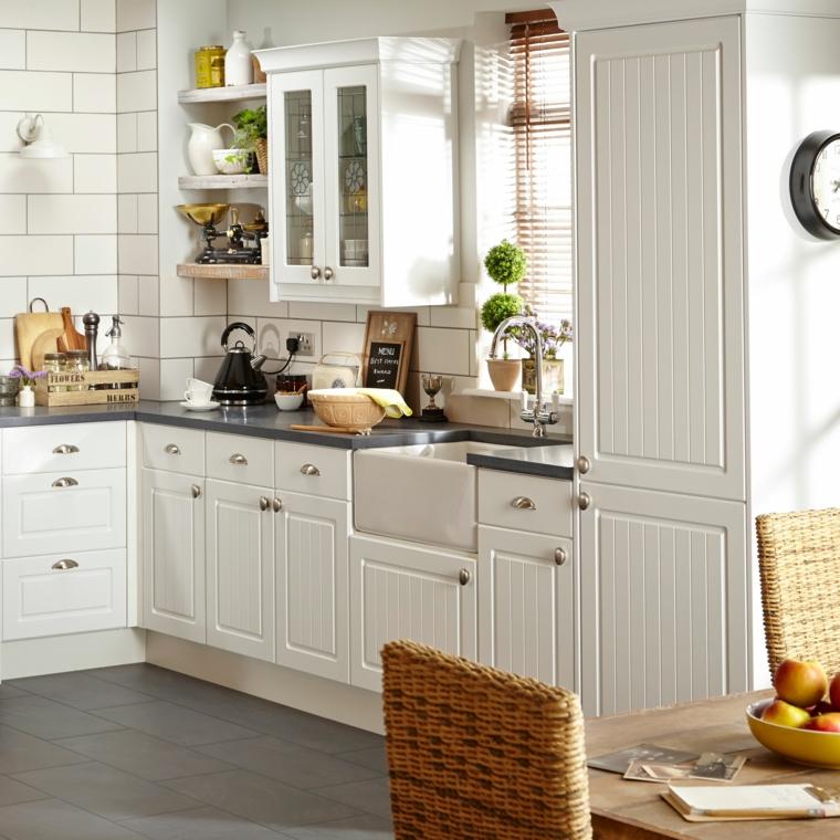 Cucine vintage 24 idee di arredamento ispirate al passato - Cuisine style retro ...