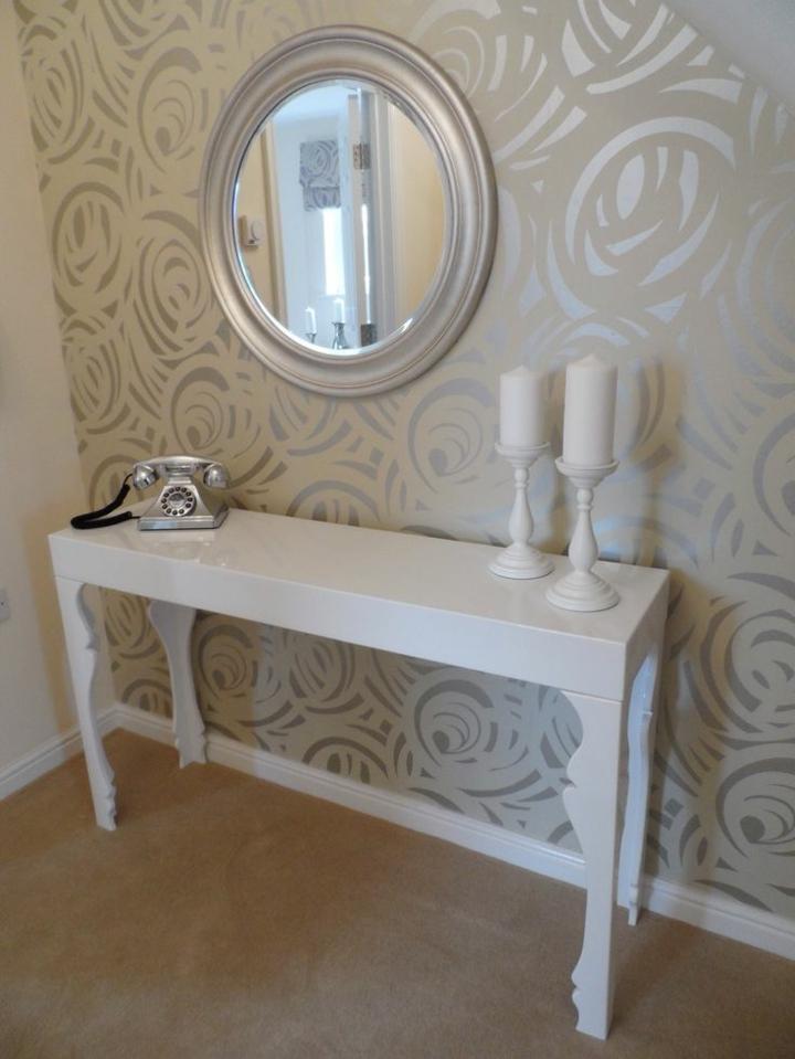 decorare casa proposta particolare parete raffinata