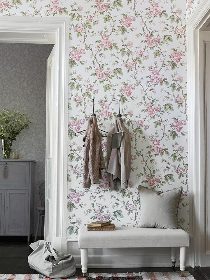 decorare casa proposta raffinata proposta floreale