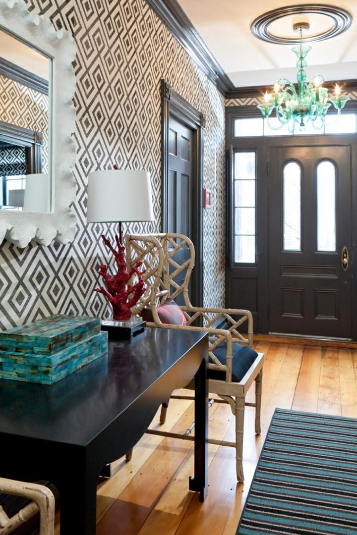 decorare casa suggerimento originale parete particolare