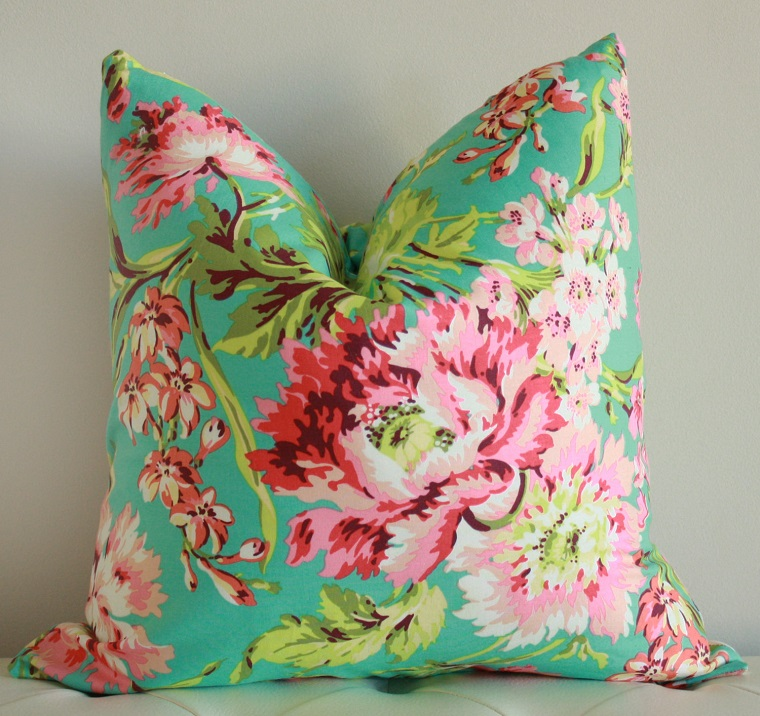 decorazioni di primavera cuscino colorato
