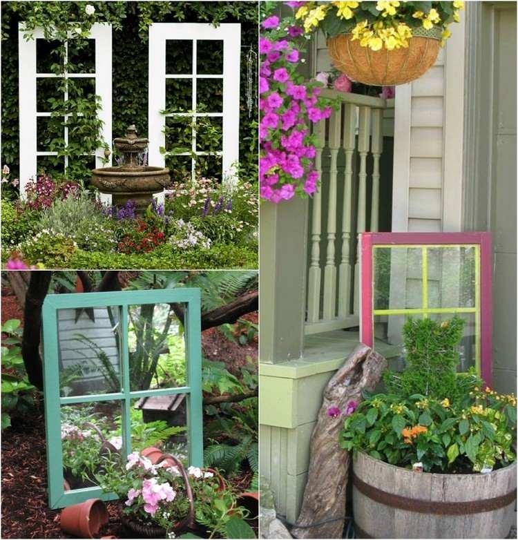 decorazioni giardino idea originale particolare area verde
