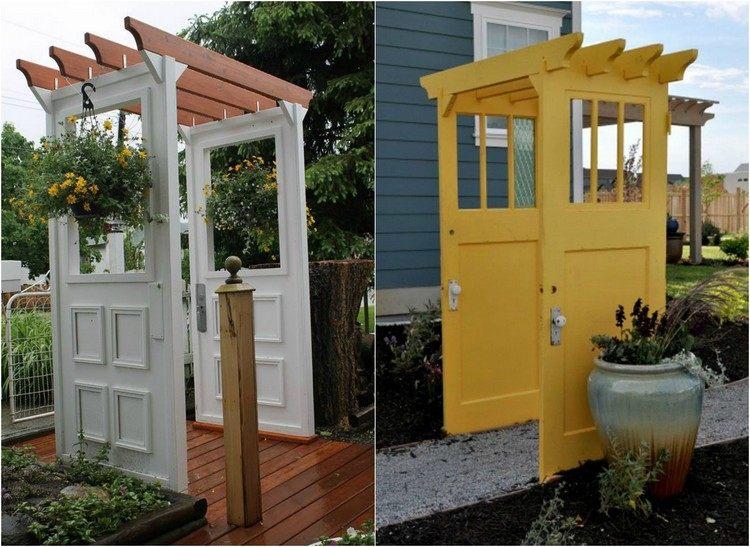 decorazioni giardino idea particolare fresca vivace
