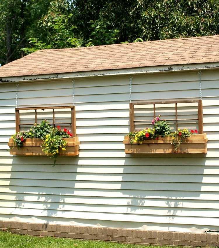decorazioni giardino idea semplice particolare originale