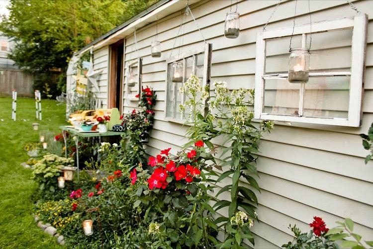 Decorazioni giardino ecco alcune idee fresche e chic for Decorazioni giardino