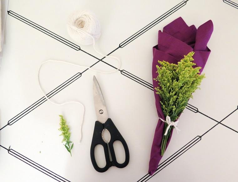 decorazioni primaverili idea centrotavola