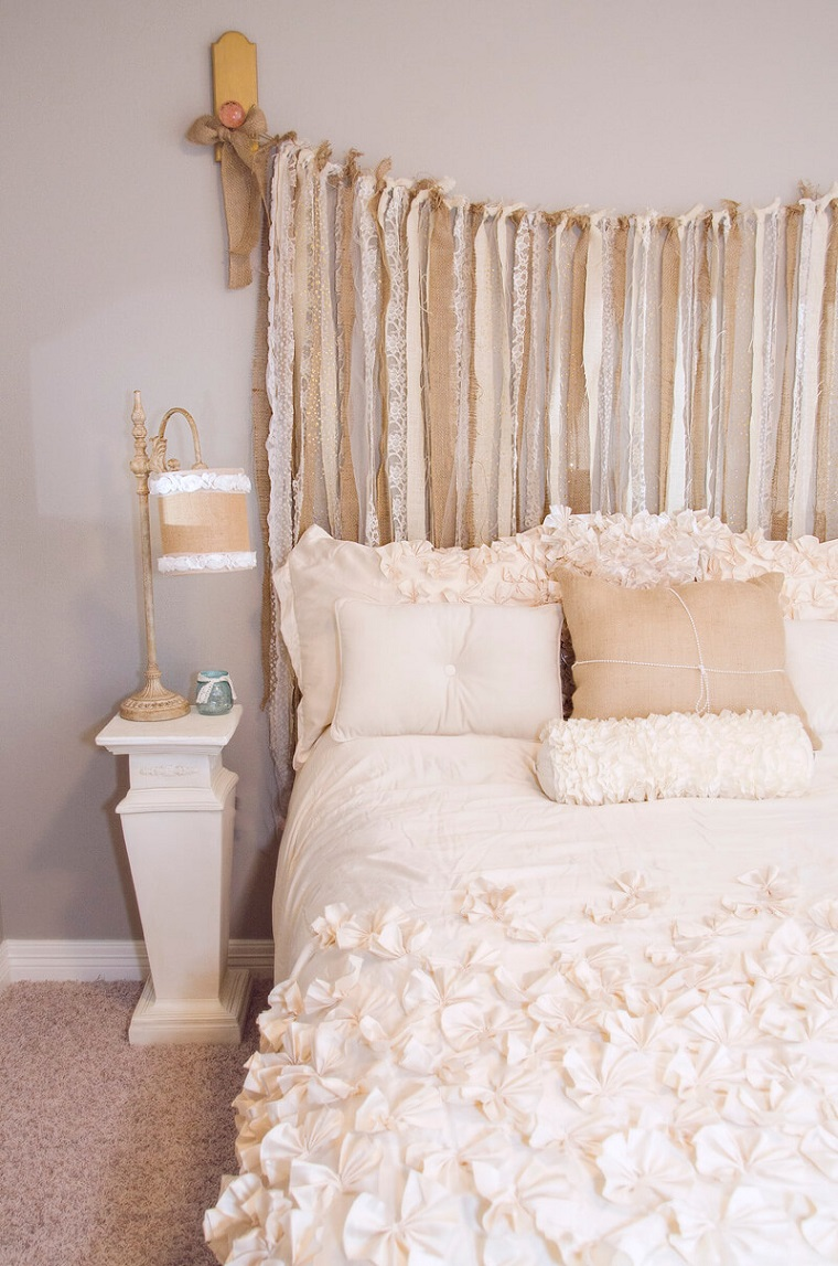 Decorazioni shabby chic tanti suggerimenti fai da te per la casa - Testata letto originale ...