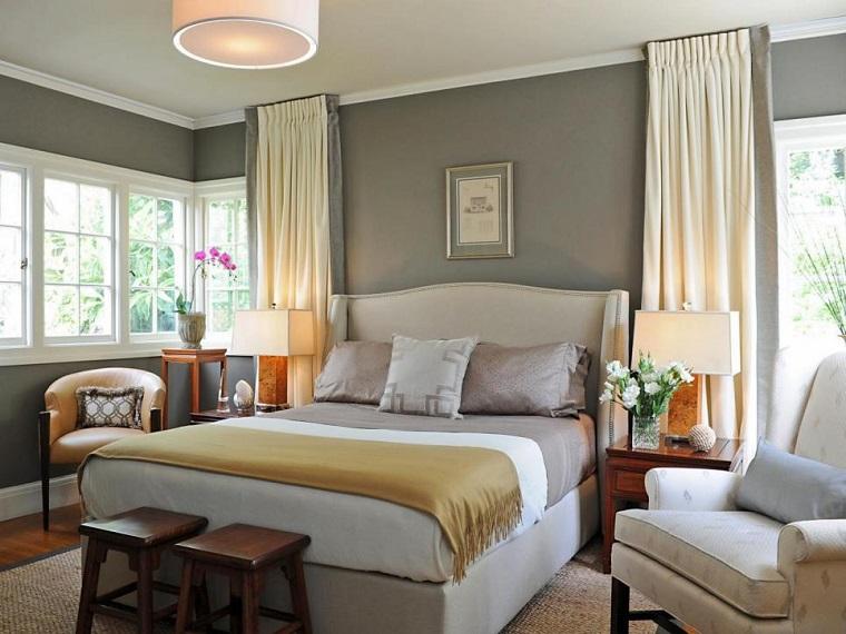 feng shui casa idea arredare camera letto sgabelli legno