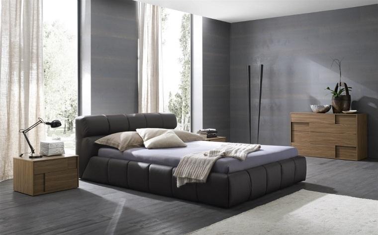 feng shui casa idea arredare camera letto pareti grigie
