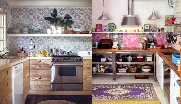 hippie style due idee cucina