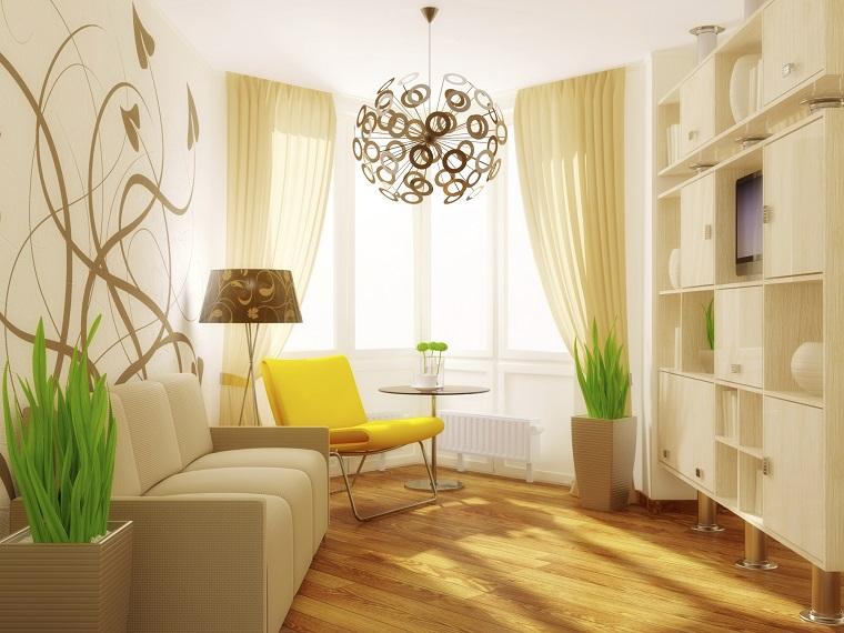 idea arredare decorare casa feng shui lampadario design