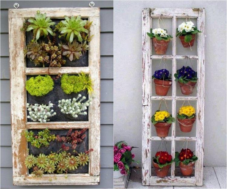 idea decorativa giardino semplice vivace