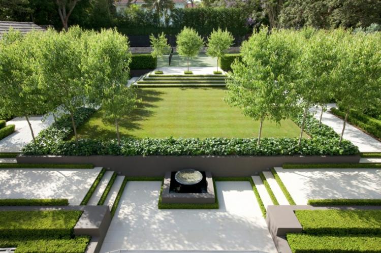 idea verde fresca vivace giardino sogno