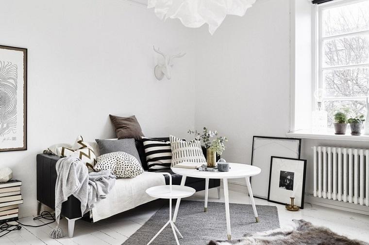 idee soggiorno arredamento stile scandinavo