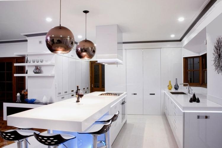 Illuminazione cucina 24 suggerimenti mozzafiato! archzine.it