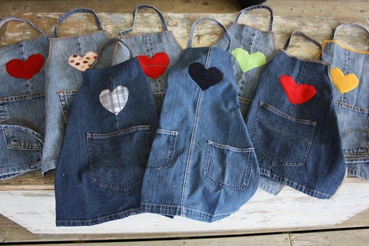 Risultati immagini per riciclo jeans
