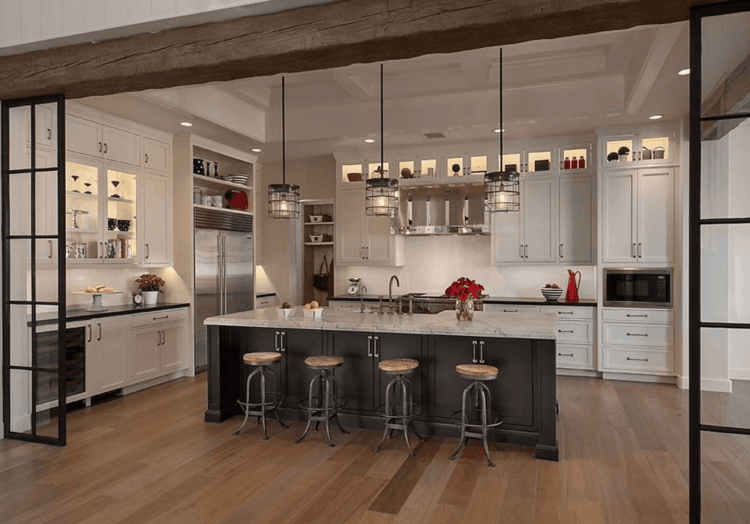 lampadari da cucina originali moderni particolare