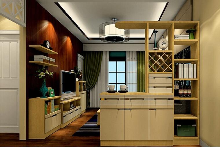 mobile divisorio legno dividere spazio design classico