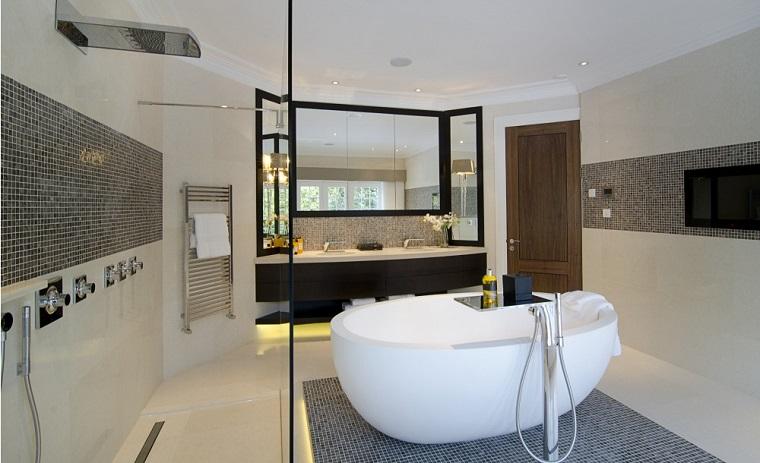 mobili bagno moderno vasca idea originale