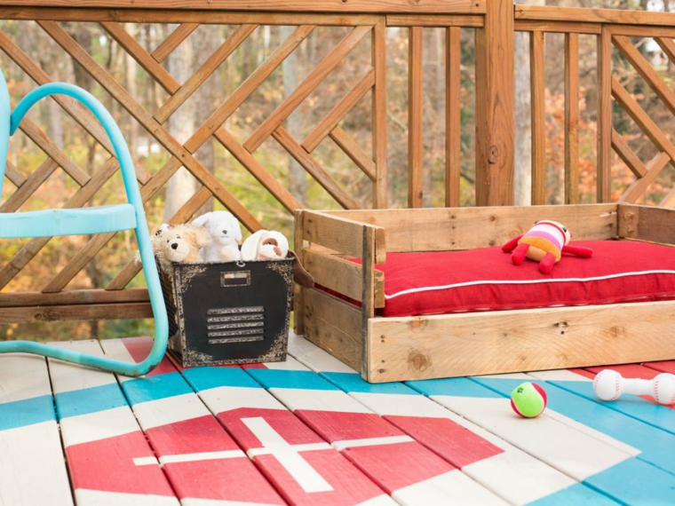 mobili con pallet proposta originale patio