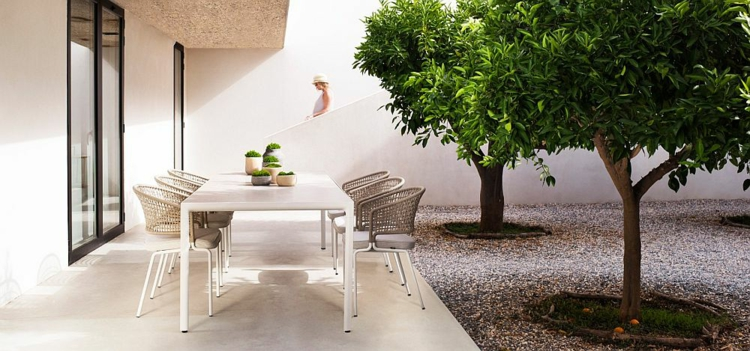 mobili da giardino idea fresca vivace semplice funzionale