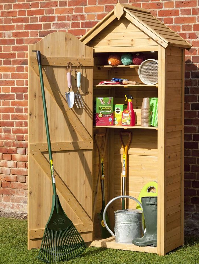 mobili da giardino idea legno funzionale pratica
