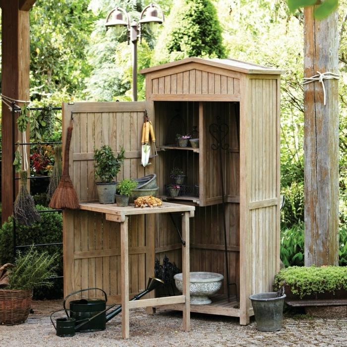 mobili da giardino idea semplice pratica funzionale