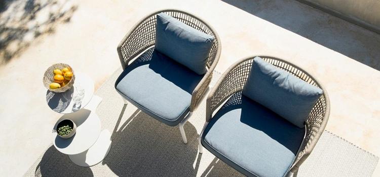 mobili da giardino proposta interessante sedie outdoor