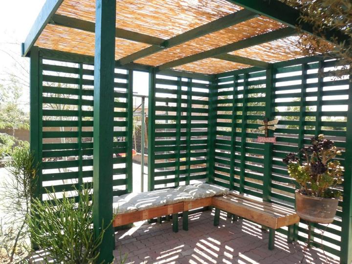 mobili giardino proposta originale semplice funzionale