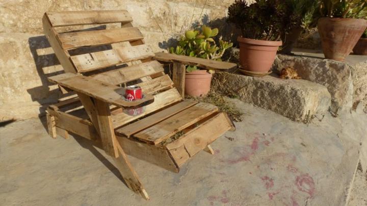 mobili giardino suggerimento semplice pratico funzionale