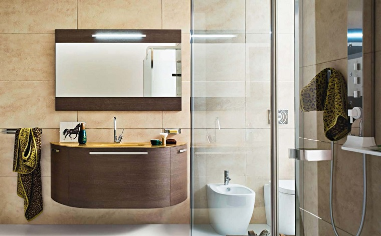 mobili legno sospesi design moderno