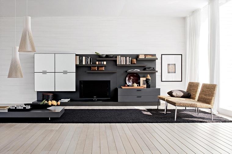 mobili moderni composizione originale salotto