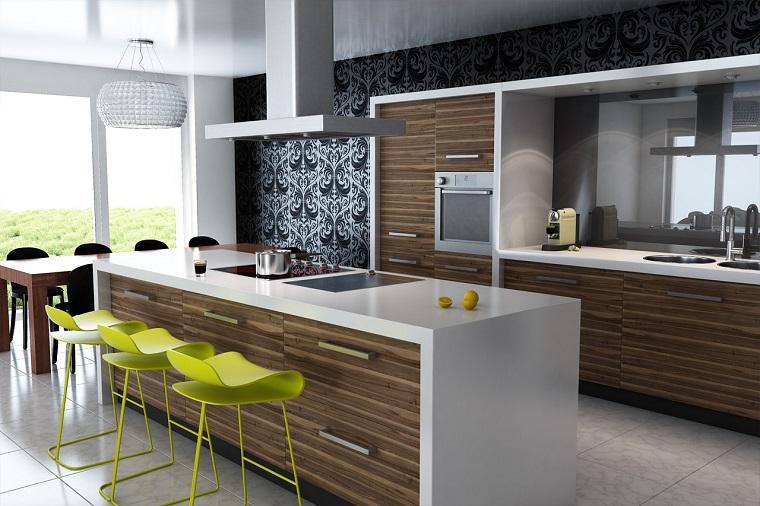 mobili moderni idea cucina isola