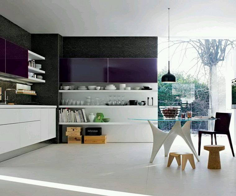 mobili moderni proposta cucina design eclettico