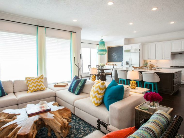 mobili salotto idea mozzafiato design semplice originale colorato