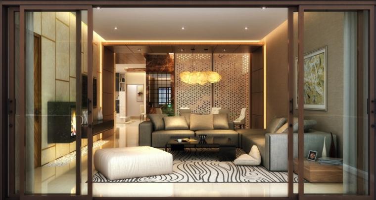 mobili salotto idea semplice elegante raffinata