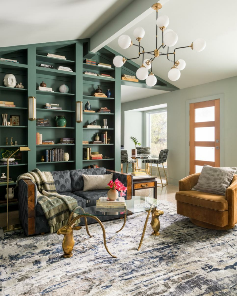 mobili salotto proposta particolare fresca vivace