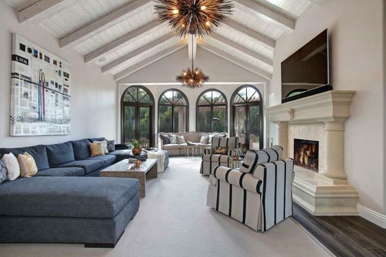 mobili salotto proposta semplice pulita colori neutri