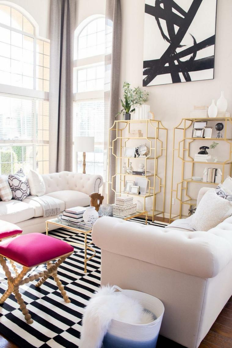 mobili salotto suggerimento originale particolare design moderno