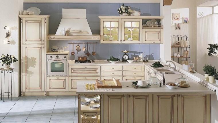 mobili stile country arredo cucina