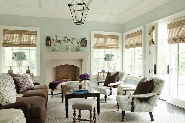 mobili stile vintage arredo soggiorno design classico