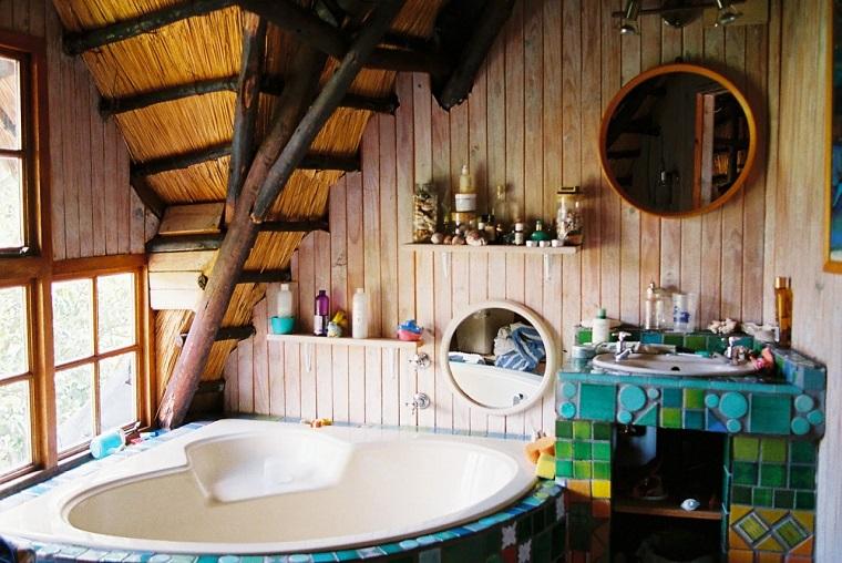 moda hippie idea locale bagno