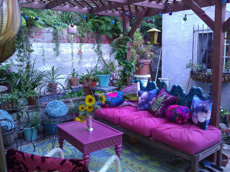 moda hippie proposta area esterna